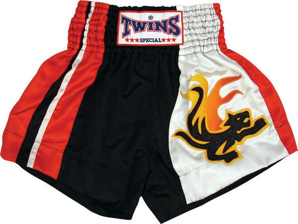 Twins Twins Thai Style Trunks W/Lizard